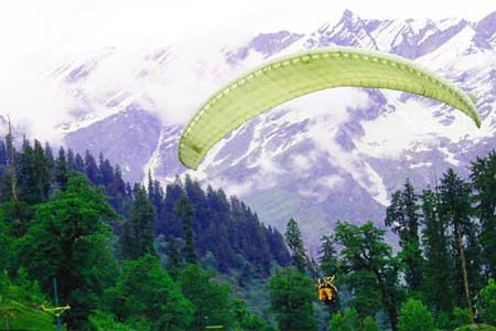 Rates of Paragliding in Kullu Manali