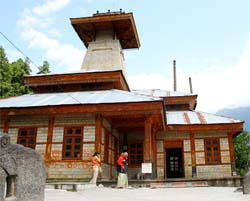Sightseeing of Manali India