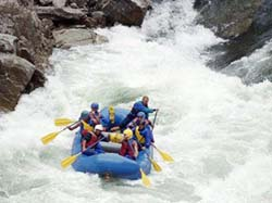 Rates of Rafting in Manali India