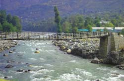 Riverside Hotels of Manali India